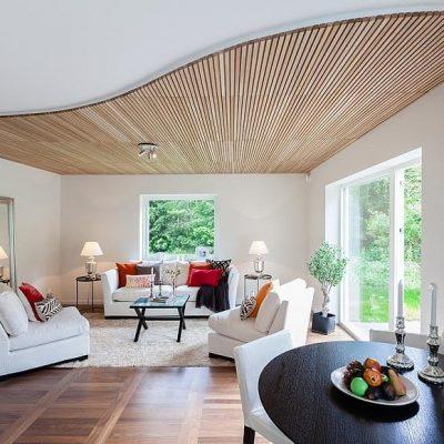 Как сделать красивый потолок?