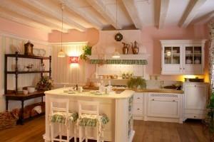 Кухни в стиле прованс Франция